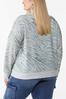 Plus Size Animal Print Sweatshirt alternate view