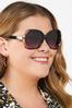 Vented Black Sunglasses alt view