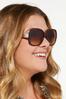 Classic Tortoise Sunglasses alt view