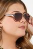 Chic Aviator Sunglasses alt view