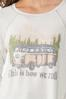 Plus Size How We Roll Graphic Tee alt view