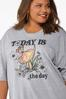 Plus Size Today Is The Day Tee alt view