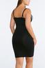 Plus Size Black Seamless Slip alternate view